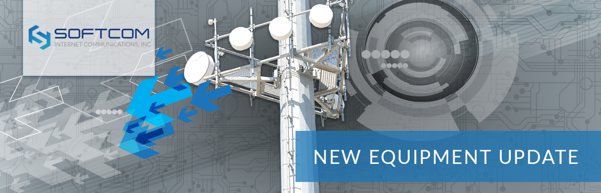 Announcing significant technology upgrades at Softcom headquarters