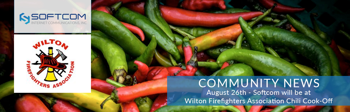 How do Softcom and spicy chili go together? Come to Wilton to see