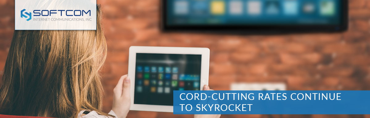 Cord-cutting rates continue to skyrocket
