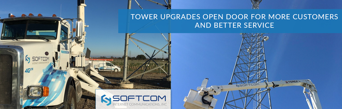 Tower upgrades open door for more customers and better service