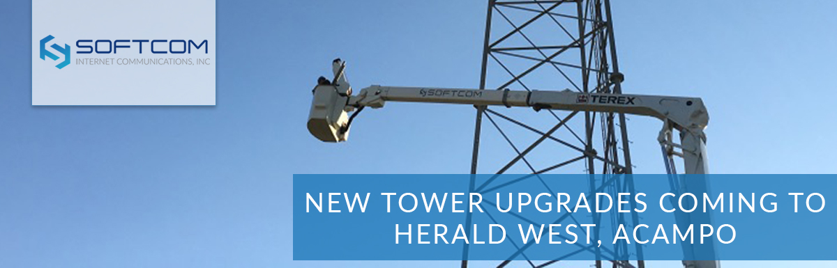New tower upgrades coming to Herald West, Acampo
