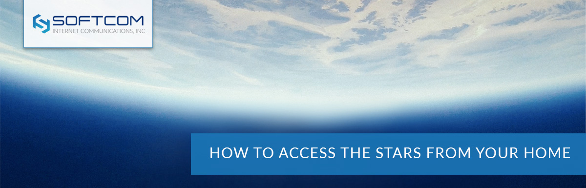 How to access the stars from your home
