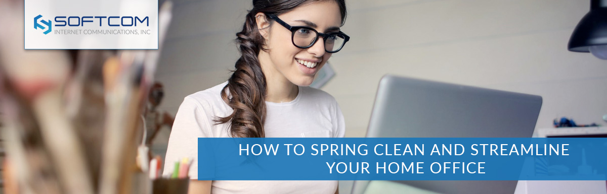How to spring clean and streamline your home office