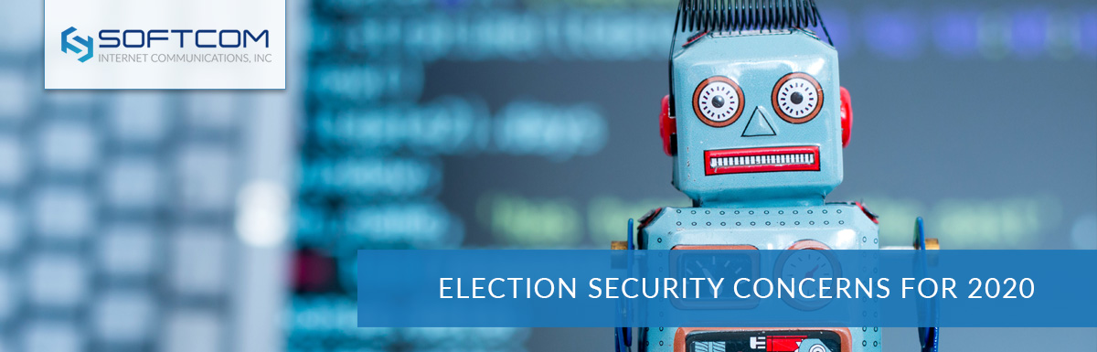 Election security concerns for 2020