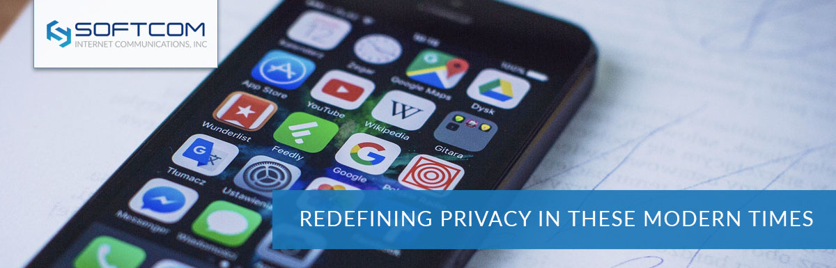 Redefining privacy in these modern times