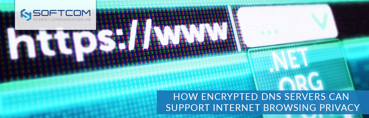 How encrypted DNS servers can support internet browsing privacy