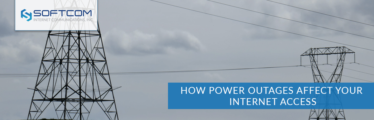 How power outages affect your internet access