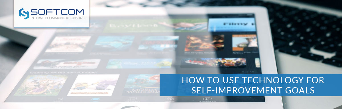 How to use technology for self-improvement goals