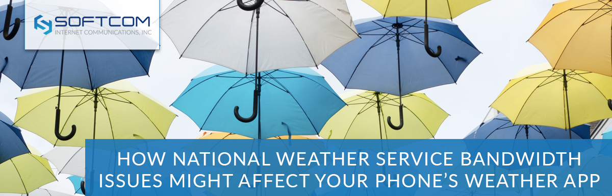 How National Weather Service bandwidth issues might affect your phone's weather app
