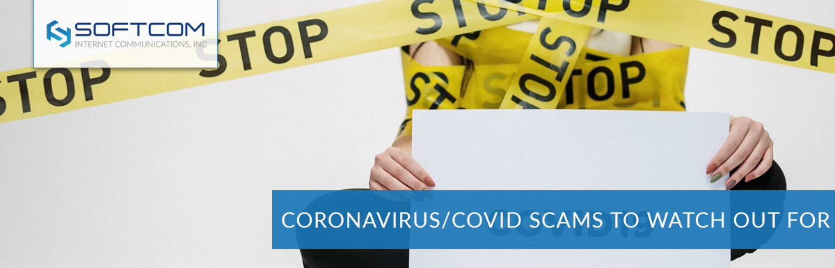 Coronavirus / COVID19 scams to watch out for